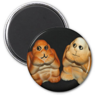 Twin Apes Magnet