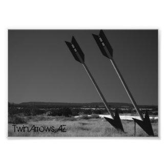 Twin Arrows Art Photo
