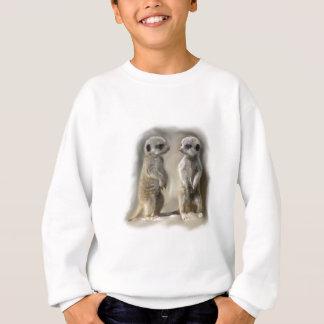 Twin baby Meerkats Sweatshirt