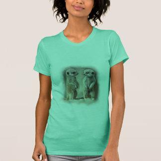 Twin baby Meerkats T-Shirt