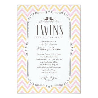 Browse Zazzle's Twins Baby Shower Invitations Collection and personalise by colour, design, or style.