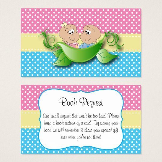 Twin Baby Shower - Two Peas In A