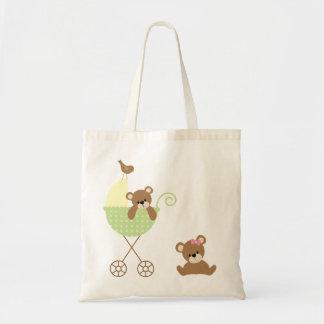 Twin Bears Diaper Bag