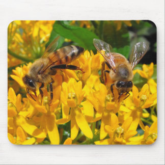 Twin Bees ~ mousepad