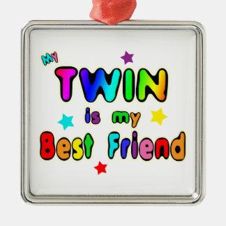 Twin Best Friend Christmas Ornament