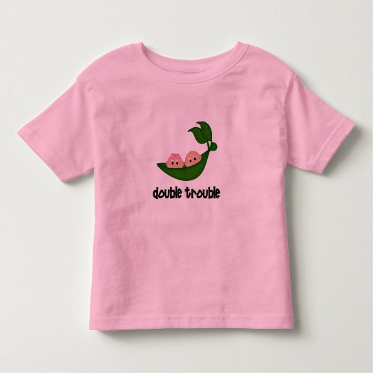 Twin Boy/Girl Clothing Toddler T-Shirt