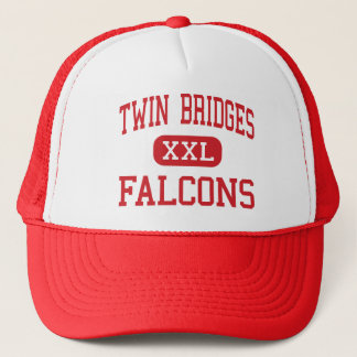 Twin Bridges - Falcons - High - Twin Bridges Trucker Hat