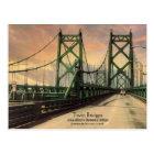 Twin Bridges Historic Postcard