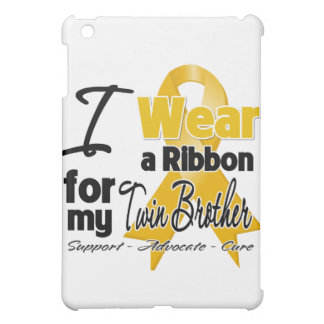 Twin Brother - Appendix Cancer Ribbon Case For The iPad Mini