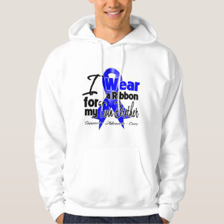 Twin Brother - Colon Cancer Ribbon Hoodies