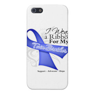 Twin Brother Periwinkle Ribbon - Stomach Cancer Cover For iPhone 5