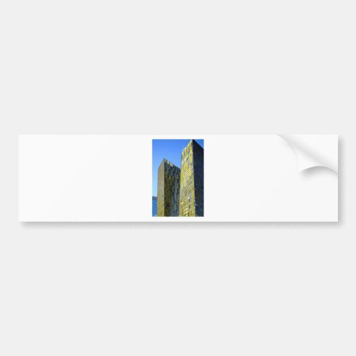 Twin Buildings on the Vegas Strip Bumper Stickers