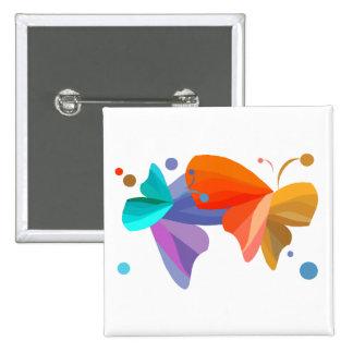 Twin Butterflies Pin