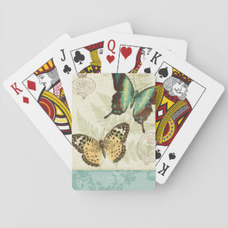 Twin Butterflies Playing Cards