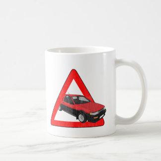 Twin Cam Corolla AE86 Basic White Mug