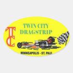 Twin City Drag Strip Class Winner Sticker