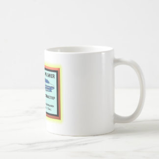 Twin City Dragstrip Basic White Mug