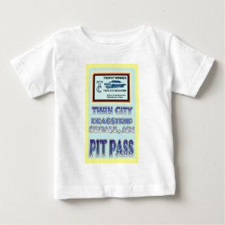 Twin City Dragstrip Pit Pass Baby T-Shirt