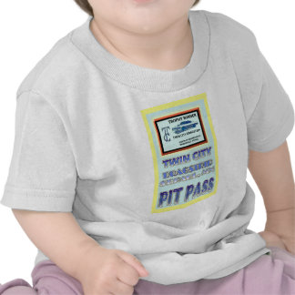 Twin City Dragstrip Pit Pass Tee Shirt