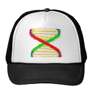 Twin DNA Strands Cap