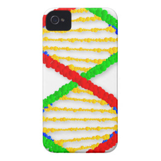 Twin DNA Strands iPhone 4 Cases