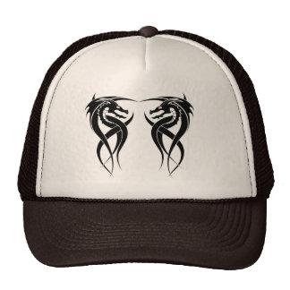 twin dragon hat