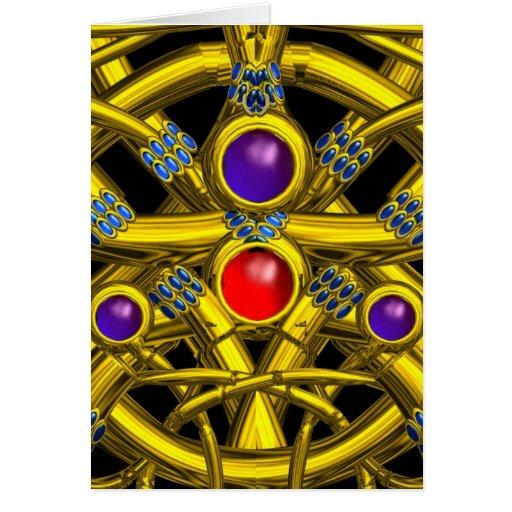 TWIN DRAGONS - Z GREETING CARD