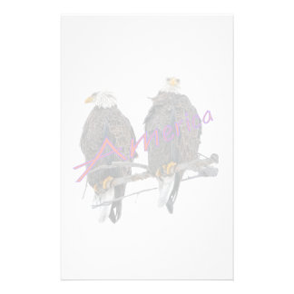 Twin Eagles America Personalized Stationery
