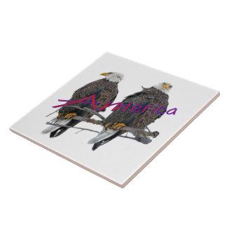 Twin Eagles America tile