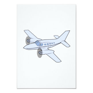 Twin-Engine Airplane Card