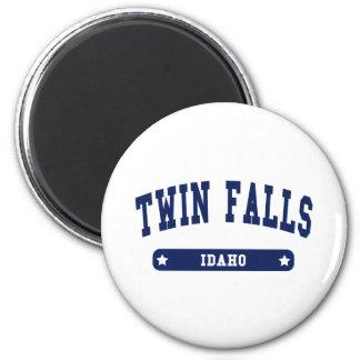 Twin Falls Idaho College Style tee shirts Magnet