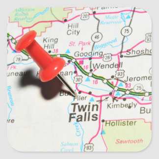 Twin Falls, Idaho Square Sticker