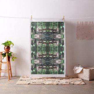 Twin Fawns mirror tiled Fabric