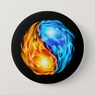 Twin Flames 7.5 Cm Round Badge