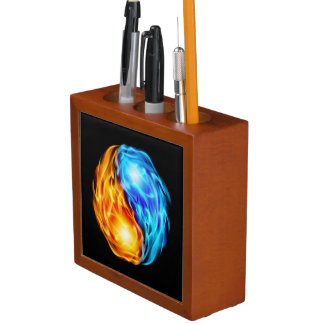 Twin Flames Desk Organiser