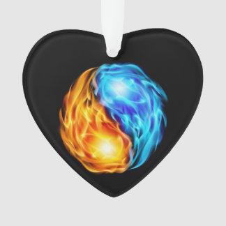 Twin Flames Ornament