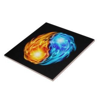 Twin Flames Tile