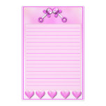 Twin Girls Stationary Stationery Design