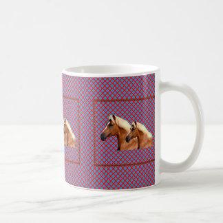TWIN Horse : Stallion Coffee Mugs
