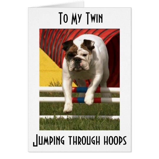 *TWIN* JUMPING THRU HOOPS TO WISH U HAPPY