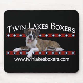Twin Lakes Boxers Mouse Pad