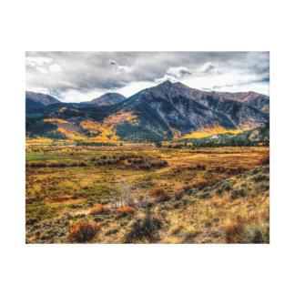 Twin Lakes: Mountain View Canvas Print