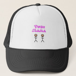 Twin mama trucker hat