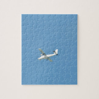 Twin Otter In Flight Jigsaw Puzzle
