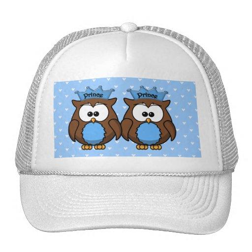 twin owl princes mesh hats