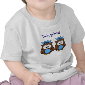 twin owl princes tshirts