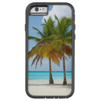 Twin Palms on White Sands Beach Turquoise Water Tough Xtreme iPhone 6 Case
