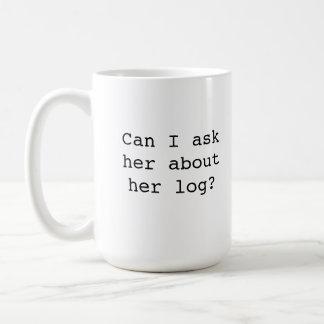 Twin Peaks Log Lady Mug