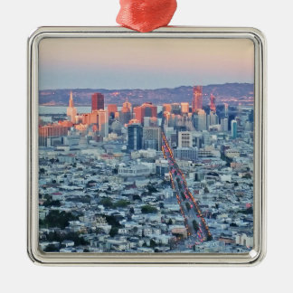 Twin Peaks San Fransisco Christmas Ornament