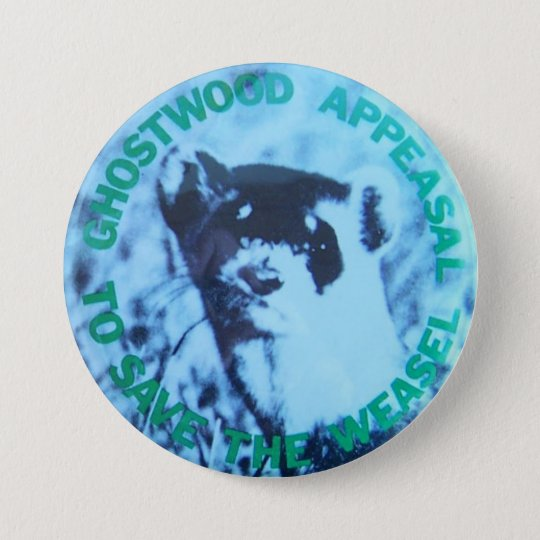 Twin Peaks- Save the Pine Weasel Prop Replica 7.5 Cm Round Badge